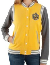 Licensed Harry Potter HUFFLEPUFF Varsity Jacket For Women