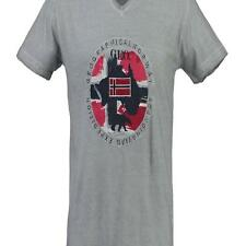 PR 51186   GEOGRAPHICAL NORWAY T-SHIRT UOMO JEXPEDITION SN242H/GN LIGHT GREY