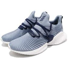 adidas Alphabounce Instinct M Raw Grey Blue Mens Running Shoes BOUNCE B27817