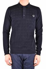 GR 100460 China blu Fred Perry Polo Uomo
