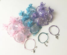 UNICORN MERMAID PRINCESS Party Bag Filler Friendship Bracelet Wish Band Stocking