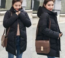 Jacket Women Winter Coats Hooded For Ladies Female Thick Cotton Padded Zipper