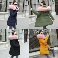 Female Coat Winter Jacket For Women Ladies Broadcloth Cotton Casual Zipper Solid