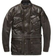Belstaff The Panther Jacket Black Brown Jacket