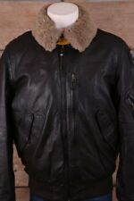 Parajumpers LE01 Josh Leather Jacket Dark Brown 580