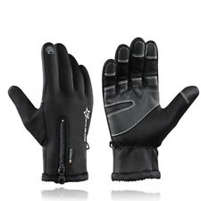 Winter Cycling Bicycle Gloves Windproof Thermal Warm Fleece Gloves Men Women