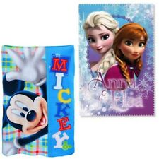 Plaid Disney Frozen Mickey mouse Blanket Cover Children 150X100 Soft Hot 357