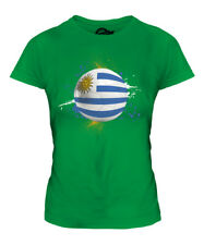 URUGUAY FOOTBALL LADIES T-SHIRT TEE TOP GIFT WORLD CUP SPORT
