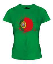 PORTUGAL FOOTBALL LADIES T-SHIRT TEE TOP GIFT WORLD CUP SPORT