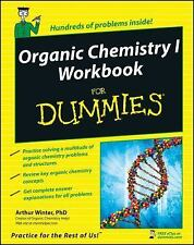 Organic Chemistry I Workbook For Dummies by Arthur Winter, (Paperback), For Dumm