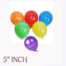 """5""""  Rainbow Mix Colour of Latex Party Balloons Helium or Air Fill Event Decor"""