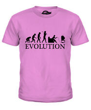 GAMER EVOLUTION OF MAN KIDS T-SHIRT TEE TOP GIFT GAMING CONSOLE CONTROLLER
