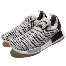 adidas Originals NMD_R1 STLT PK PrimeKnit Grey Black Men Running Shoes CQ2387