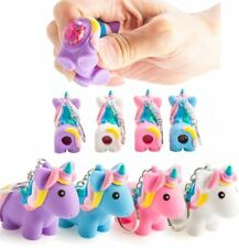 Pooping Glitter Unicorn Keyring Christmas Stocking filler Party Bag Filler