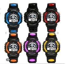 SPORTS WATCH Men Boys WATER RESISTANT 6 Colours Available UK SELLER Free Postage