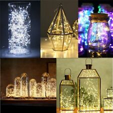Led String Lights Copper Wire Fairy Garland Lamp Christmas Home Party Decoration