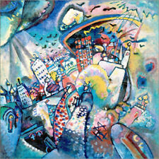 Póster, lienzo o cuadro en metacrilato Red Square - Wassily Kandinsky