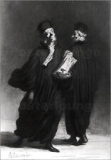 Póster, lienzo o cuadro en metacrilato Two Lawyers - Honoré Daumier