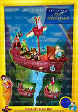 McDonalds RARE 2002 SETS Treasure Planet Beauty Beast Peter Pan Pinochio Lilo