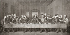 Poster, stampa su tela o vetro acrilico The Last Supper After Le... - K. Welsh