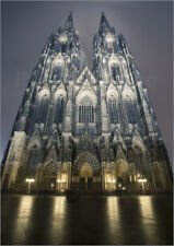 Póster, lienzo o cuadro en metacrilato the cathedral at Cologne on christm...