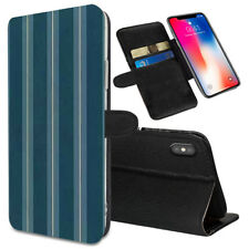 VERTICAL STRIPES Printed Stand Wallet Case for Samsung Galaxy Models - 0021