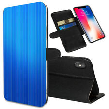 VERTICAL STRIPES Printed Stand Wallet Case for Samsung Galaxy Models - 0006