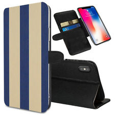 VERTICAL STRIPES Printed Stand Wallet Case for Samsung Galaxy Models - 0002