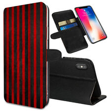 VERTICAL STRIPES Printed Stand Wallet Case for Samsung Galaxy Models - 0007