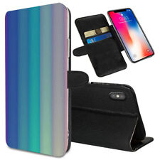 VERTICAL STRIPES Printed Stand Wallet Case for Samsung Galaxy Models - 0047