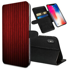 VERTICAL STRIPES Printed Stand Wallet Case for Samsung Galaxy Models - 0018