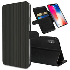 VERTICAL STRIPES Printed Stand Wallet Case for Samsung Galaxy Models - 0043