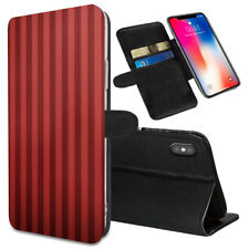 VERTICAL STRIPES Printed Stand Wallet Case for Samsung Galaxy Models - 0009