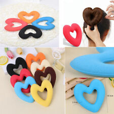Hair Bun Maker Donut Styling Bands Former Foam Heart Twist Magic DIY Tool 2018.