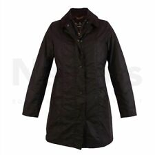 Barbour Ladies Belsay Wax Jacket Rustic,size 16,new with tags on