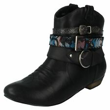 Ladies Coco Heeled Ankle Boots