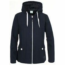 Trespass LISBET Stylish Womens Navy Lightweight Coat Ladies Hooded Casual Jacket