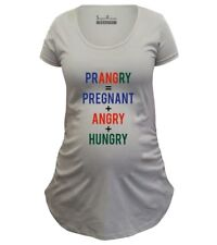 Pregnancy Shirts Maternity T shirts Tunic Clothes Prangry Pregnant Hungry Angry