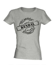 MADE IN KENDAL LADIES T-SHIRT GIFT CHRISTMAS BIRTHDAY 18TH 30TH 40TH 50TH 60TH