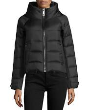 Burberry Brit Women's Townfield Goose Down Puffer Short Jacket Coat Black New