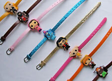 SHOE CHARM BRACELETS (P5) - inspired by CUTE WIZARD CARTOON CHARACTERS