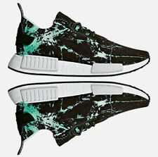 Adidas Originals Nmd R1 Runner Informal Men's Black - Blanco - Verde Nuevo