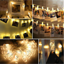 20 50 100 LED Wire String Lights Fairy XMAS Party Wedding Christmas Supplies