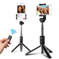 3 in 1 Selfie Stick Tripod Extendable Monopod with BT Remote for Smartphones