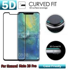 3D Curved Tempered Glass Screen Protector Guard Cover for Huawei Mate 20 Pro NEW