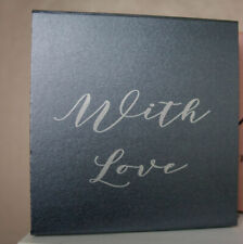 Luxury Pewter  Gift Box Pewter box gift boxes with ribbons Bridesmaid Gifts