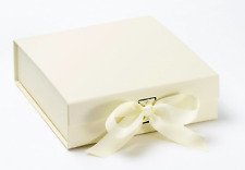 Luxury Ivory Gift Box Ivory box gift boxes with ribbons Bridesmaid Gifts