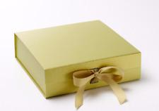 Luxury Gold Gift Box Gold box gift boxes with ribbons Bridesmaid Gifts