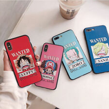 New Cartoon Luffy One Piece Soft Phone Case For iPhone XS MAX XR X 8 7 6s 6 Plus
