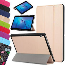 """Pour Huawei Mediapad T3 7.0 """" 8 """" 10 """" Cuir Fin Housse Etui Support Smart"""